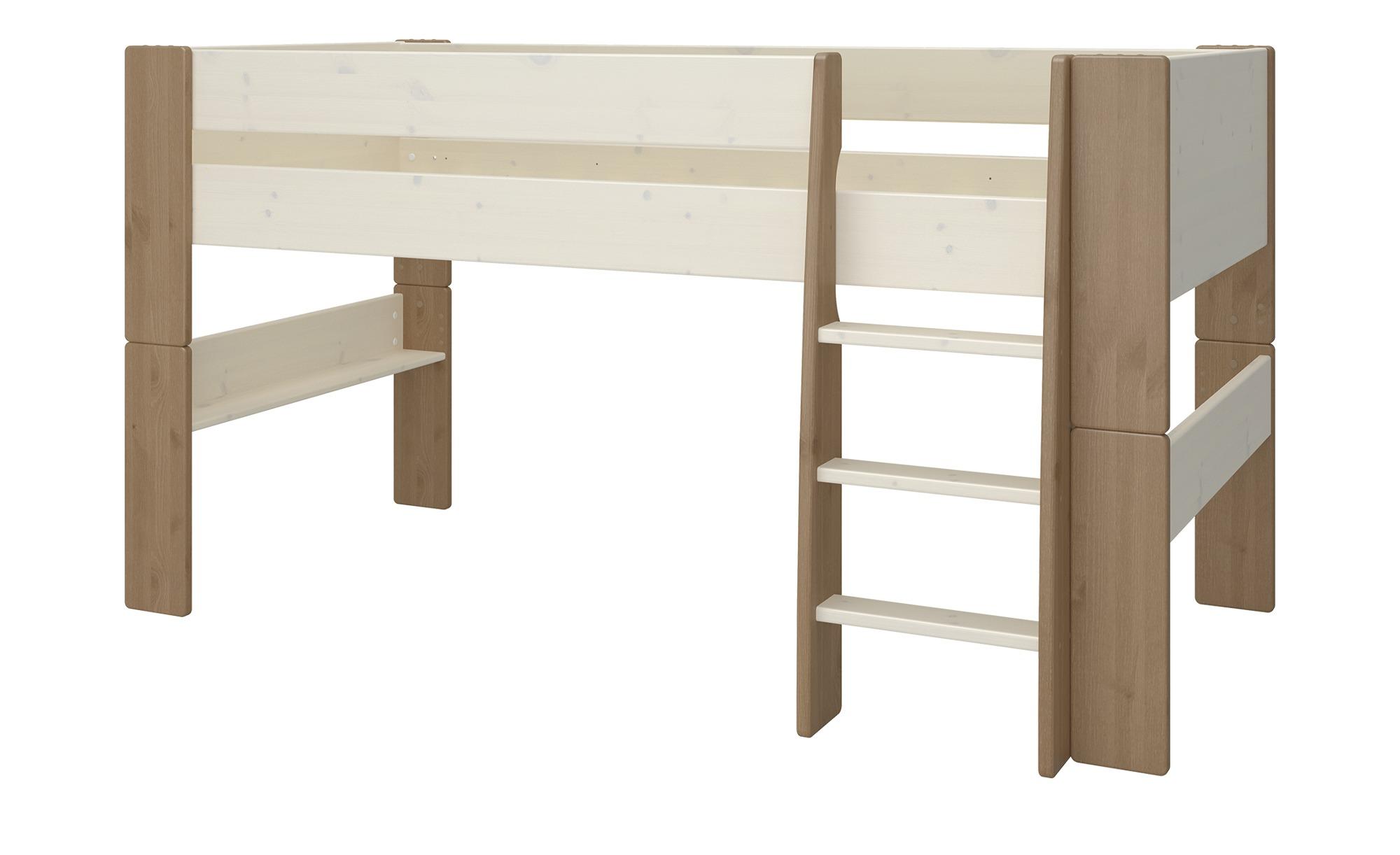 Halbhohes Bett  Malte ¦ holzfarben Kindermöbel > Kinderbetten - Höffner günstig online kaufen