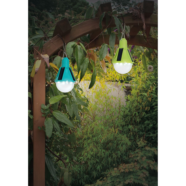 home24 LED-Solar Pendelleuchte Sora (2er Set) günstig online kaufen