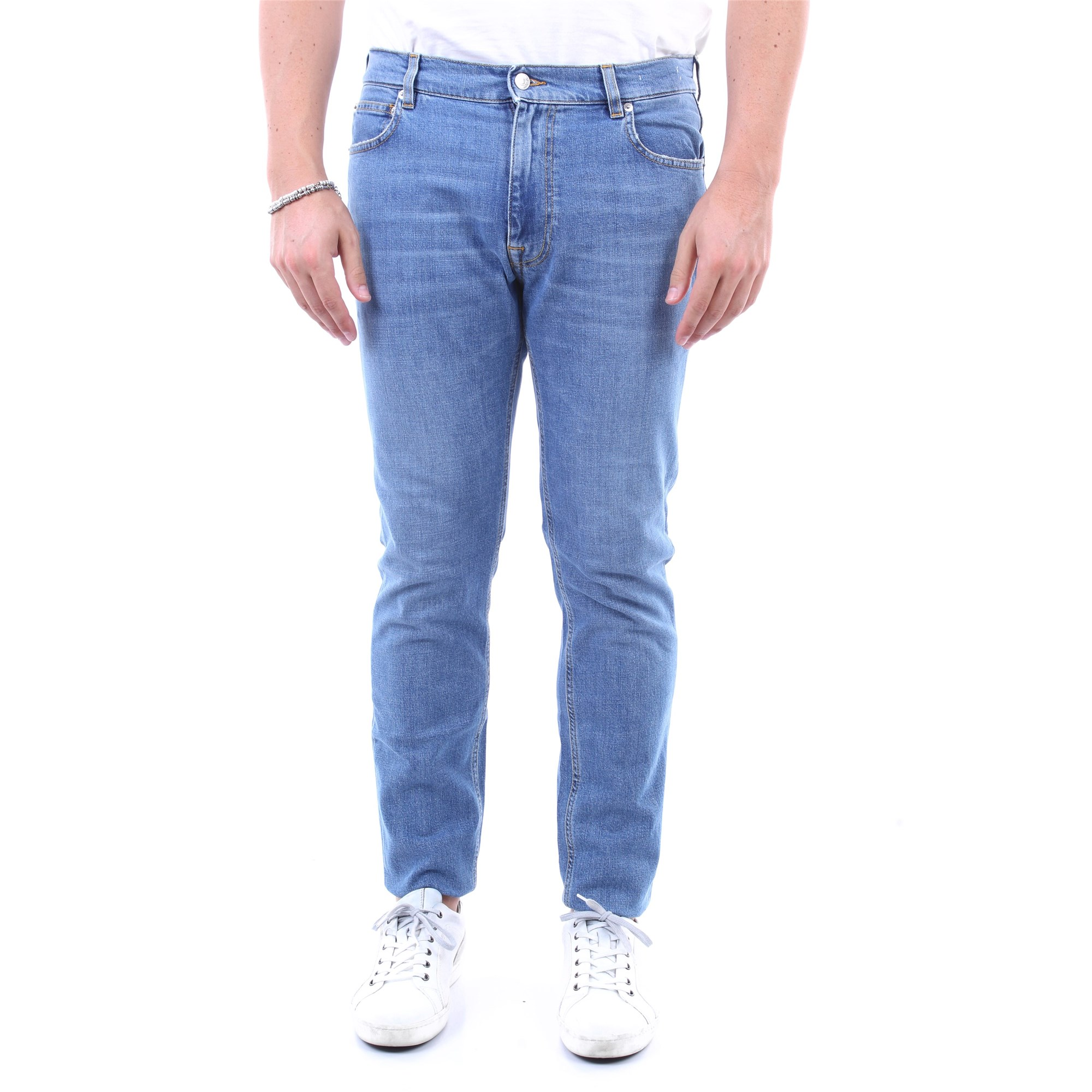 GRIFONI schlank Herren Blue Jeans günstig online kaufen