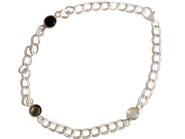 Gemshine Armkette »Rosenquarz, Onyx«, Made in Spain günstig online kaufen