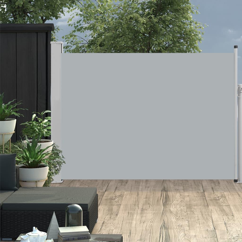 Ausziehbare Seitenmarkise 120×500 Cm Grau günstig online kaufen