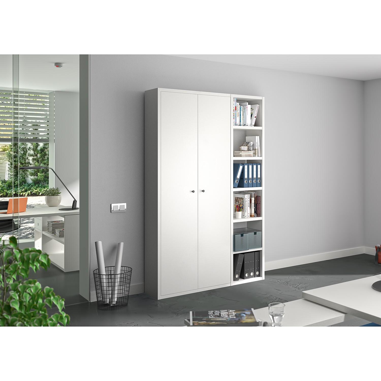 home24 Aktenschrank-Kombination Emporio III günstig online kaufen