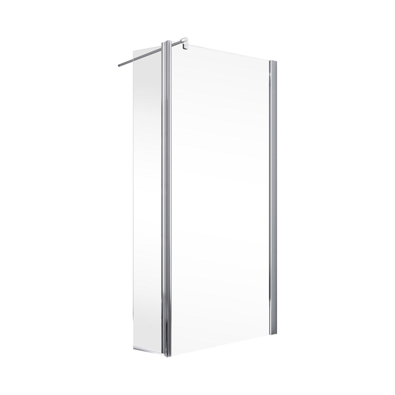 Schulte AlexaStyle 2.0 Duschwand Walk In mit bewegl. Element 80 x 30 x 190 günstig online kaufen