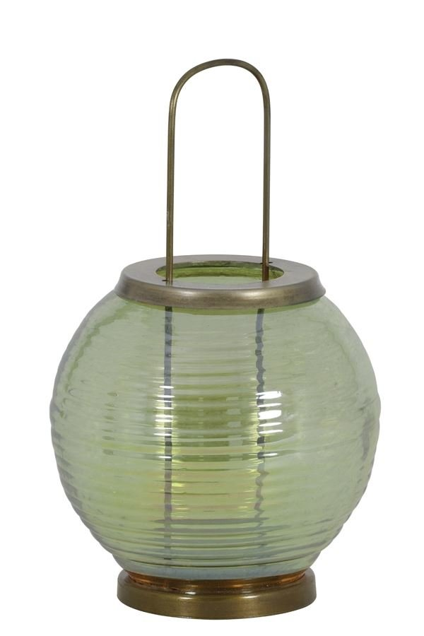 Light & Living Windlichter mit Henkel THOR Windlicht olivgrün+antik bronze günstig online kaufen