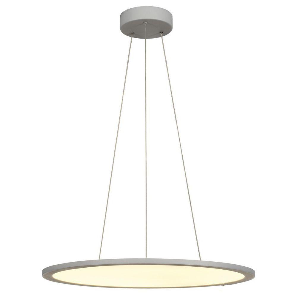 LED Pendelleuchte 43W 3150lm 3000K in Grau günstig online kaufen