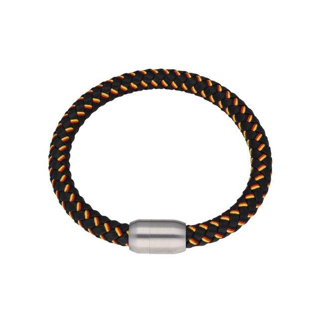Jacques Charrel Armband »schwarz, geflochten, in Deutschland-Optik mit Magn günstig online kaufen