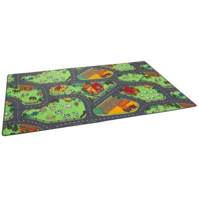 Snapstyle Kinder Spiel Teppich Bauernhof Spielteppiche bunt Gr. 80 x 160 günstig online kaufen