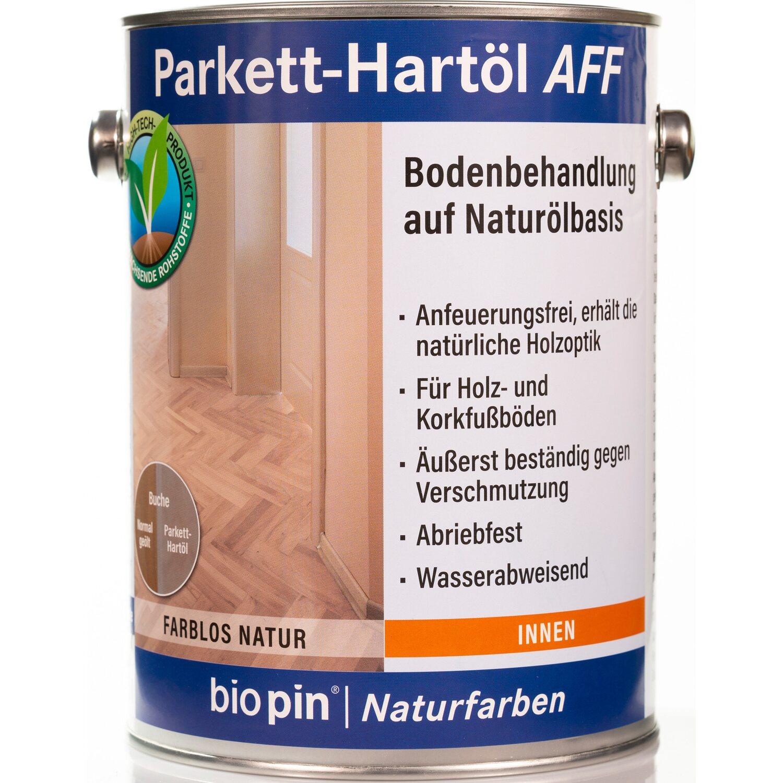 Biopin Parkett-Hartöl AFF Farblos 2,5 l günstig online kaufen