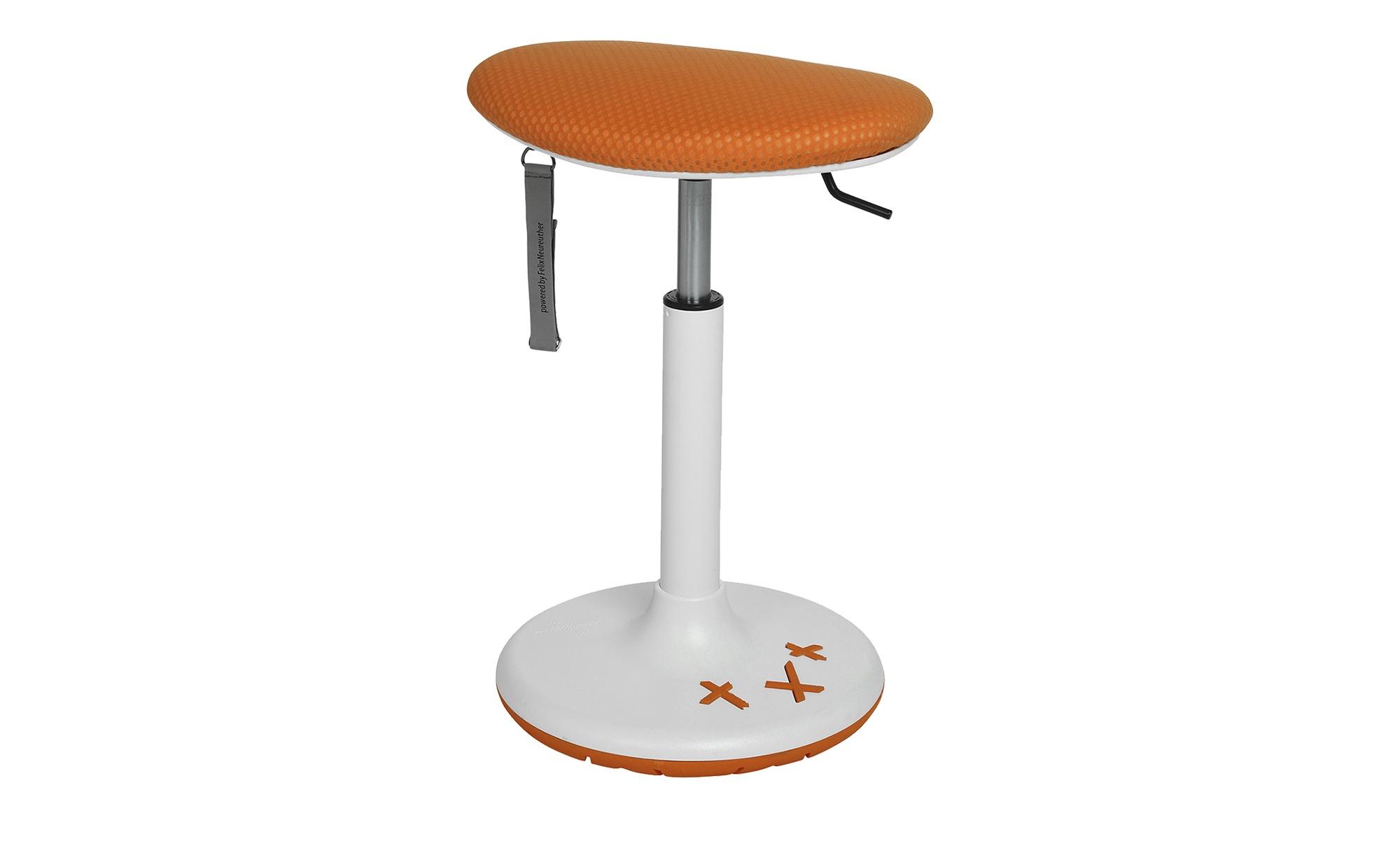 Sitness X Kinder-Drehhocker  Sitness X Stool 20 ¦ orange Stühle > Bürostühl günstig online kaufen