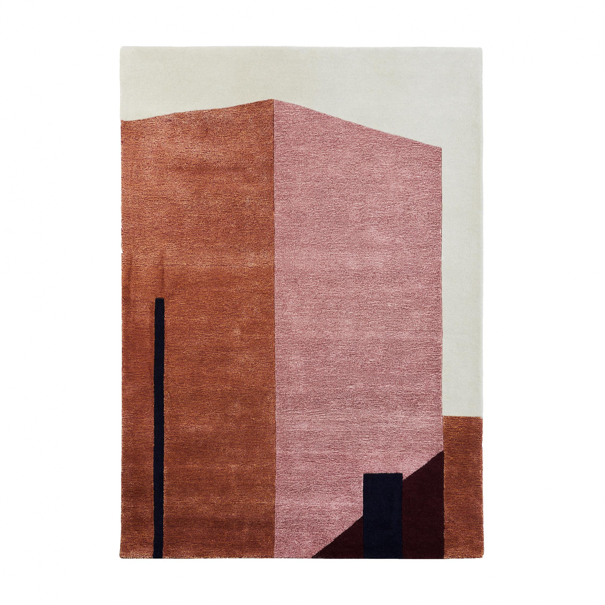 PLEASE WAIT to be SEATED - Arqui 1 Wandteppich 240x170cm - indisches rot & günstig online kaufen
