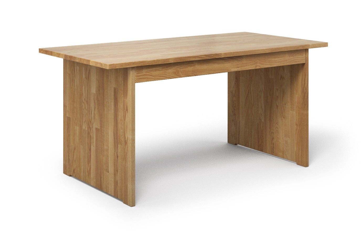 Schreibtisch Fero aus Eiche rustikal günstig online kaufen