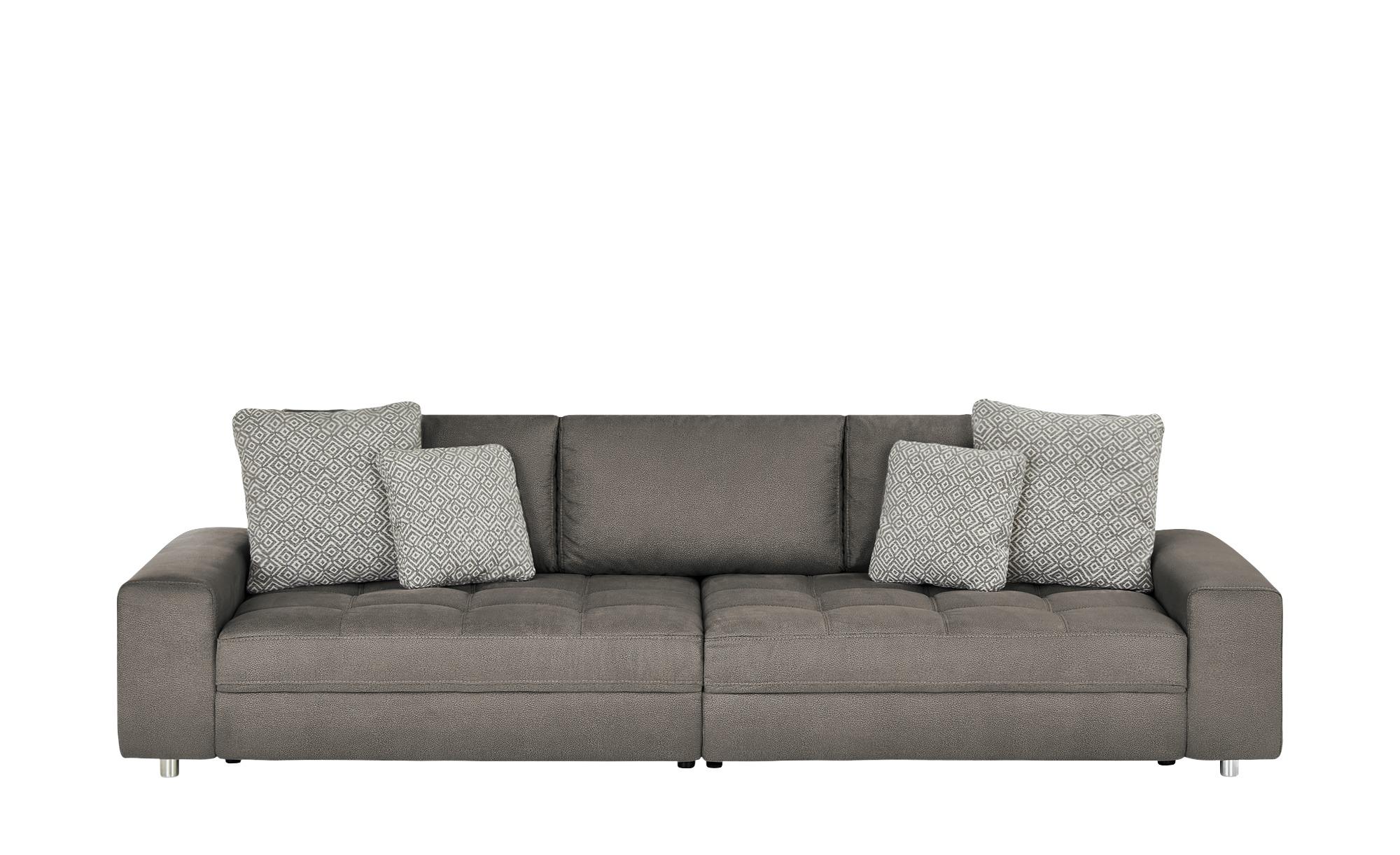 bobb Big Sofa  Arissa ¦ grau Polstermöbel > Sofas > Big-Sofas - Höffner günstig online kaufen