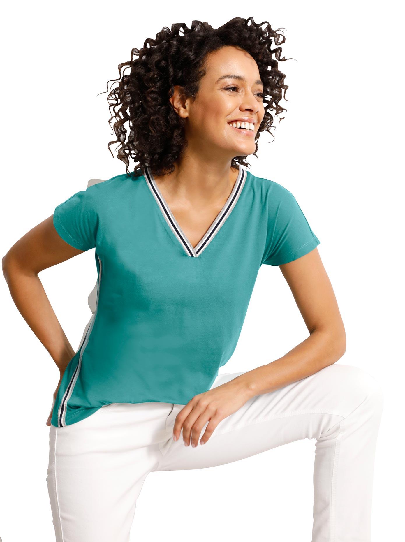 CREATION L PREMIUM V-Shirt günstig online kaufen