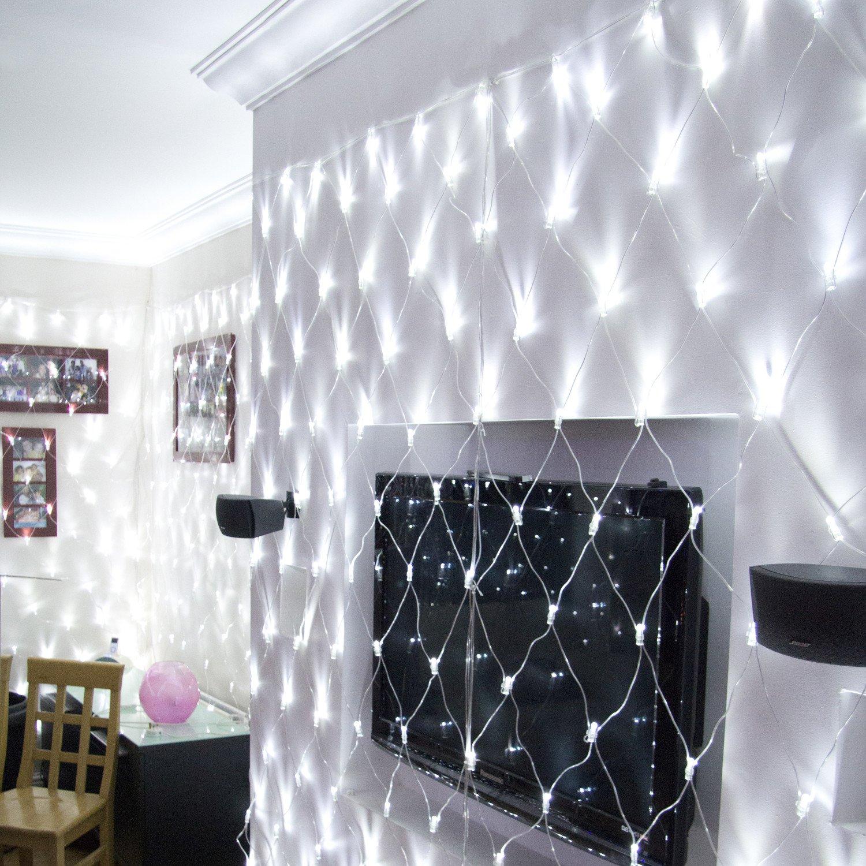 Core Connect 10m x 2m 700er LED Lichternetz weiß koppelbar transparentes Ka günstig online kaufen