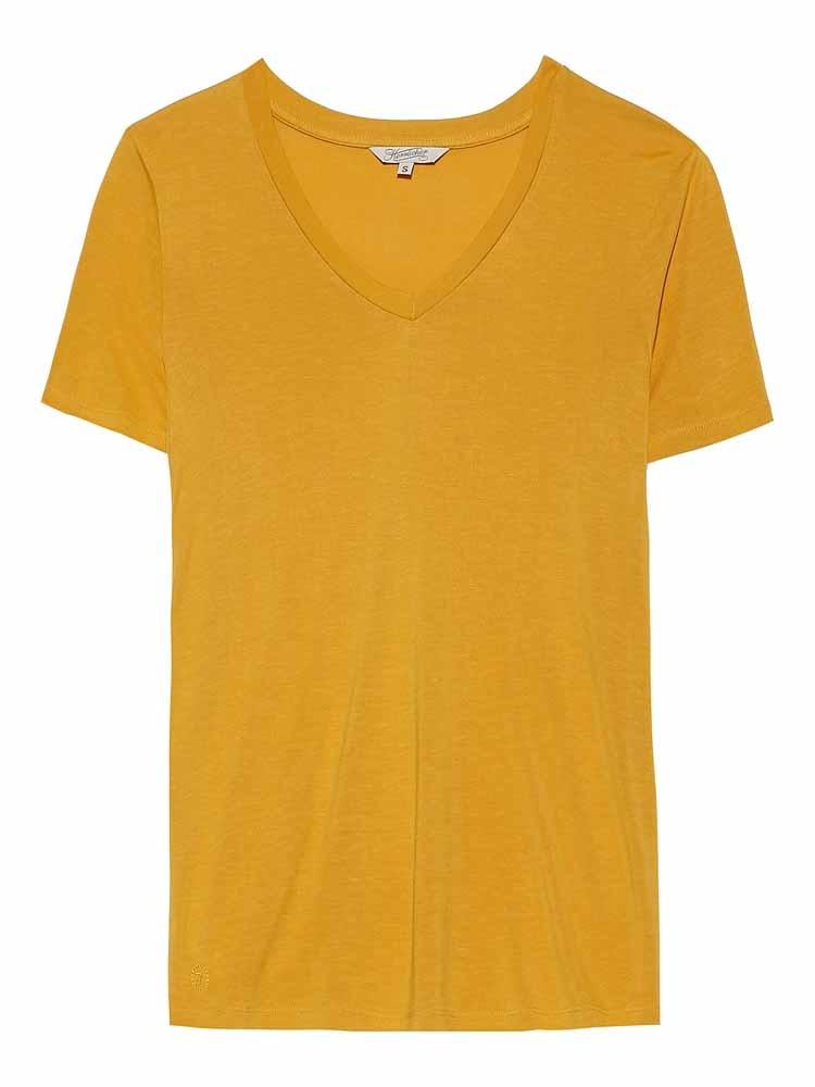 Herrlicher V-Shirt Joye, im lockeren Schnitt günstig online kaufen