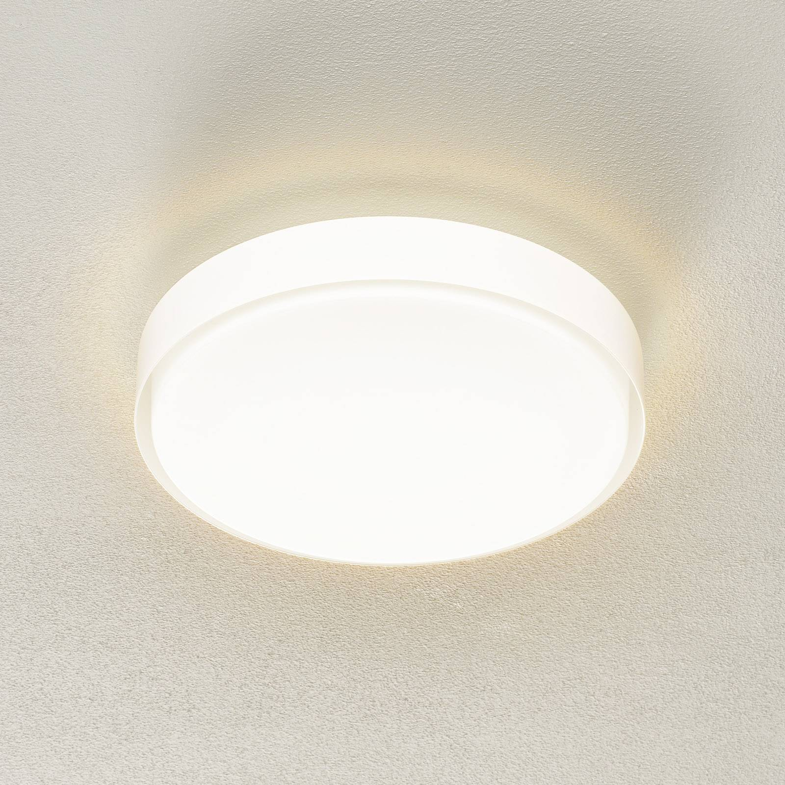 BEGA 34278 LED-Deckenleuchte, weiß, Ø 36 cm, DALI günstig online kaufen