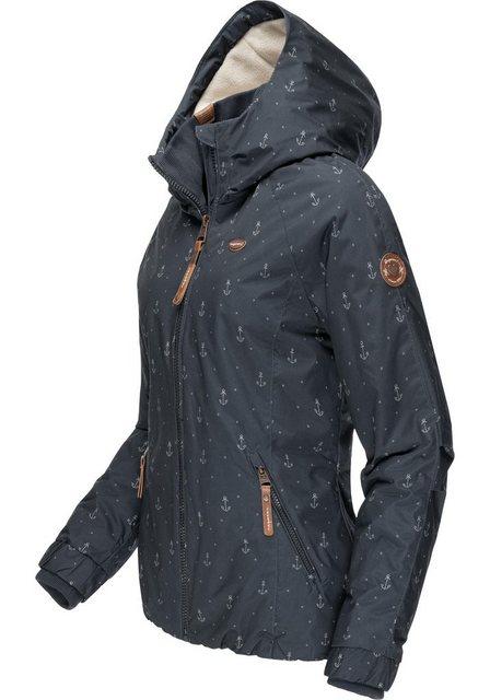 Ragwear Winterjacke »Dizzie Marina Winter Intl.« Warme Outdoorjacke mit mar günstig online kaufen