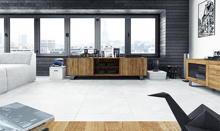 TV-Lowboard STEEL 2-T 2-Sk Holz massiv günstig online kaufen