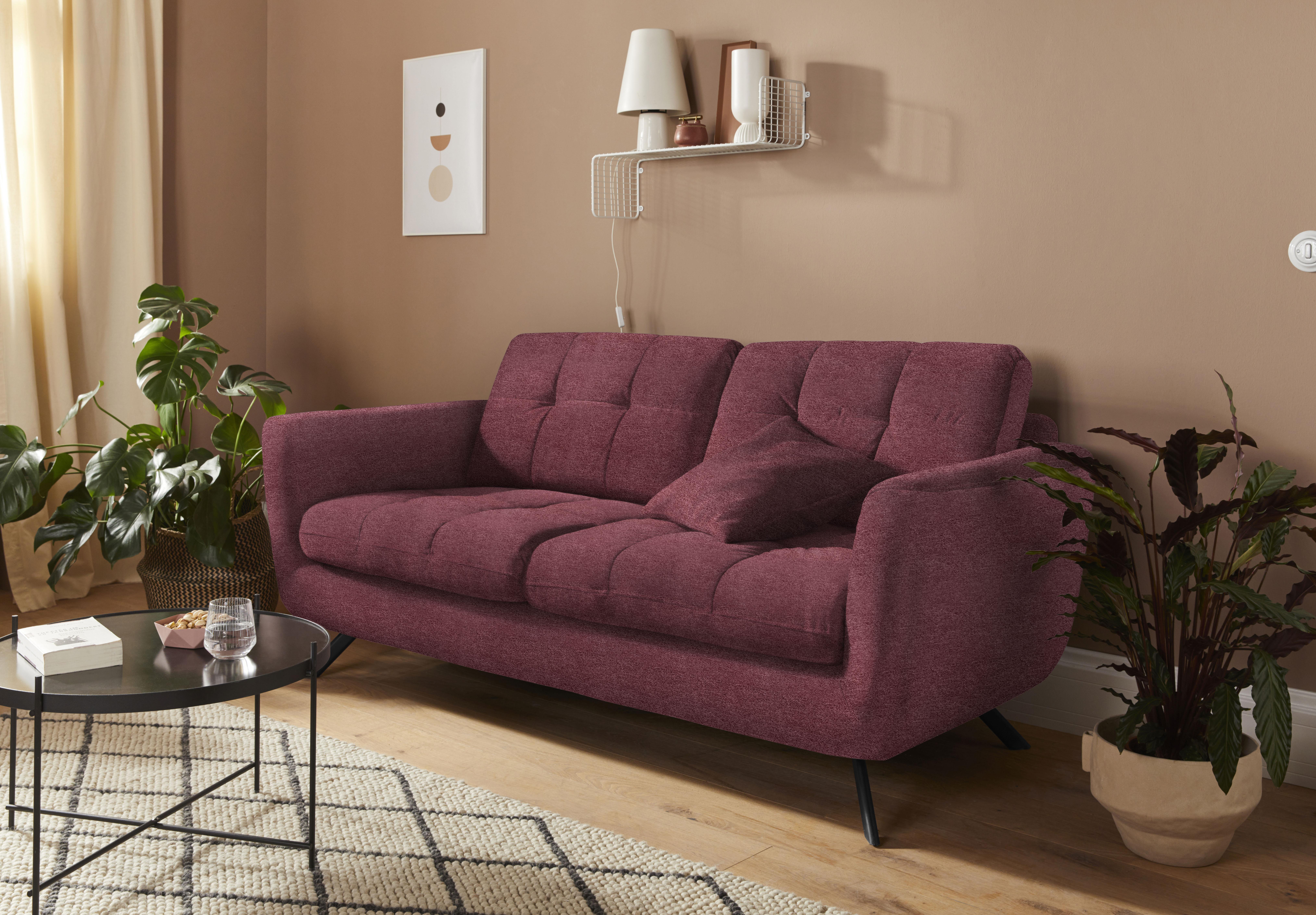 Mr. Couch 2,5-Sitzer »Hailey«, 5 Jahre Hersteller-Garantie auf Kaltschaumpo günstig online kaufen