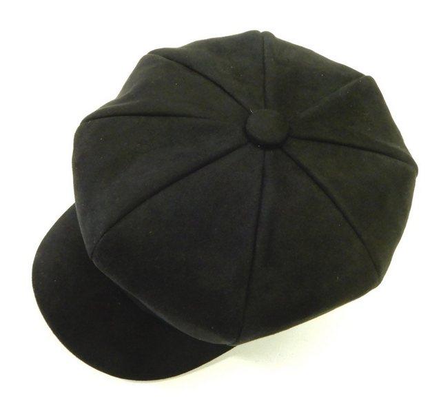 Chaplino Flat Cap, in Fischgrat-Optik günstig online kaufen