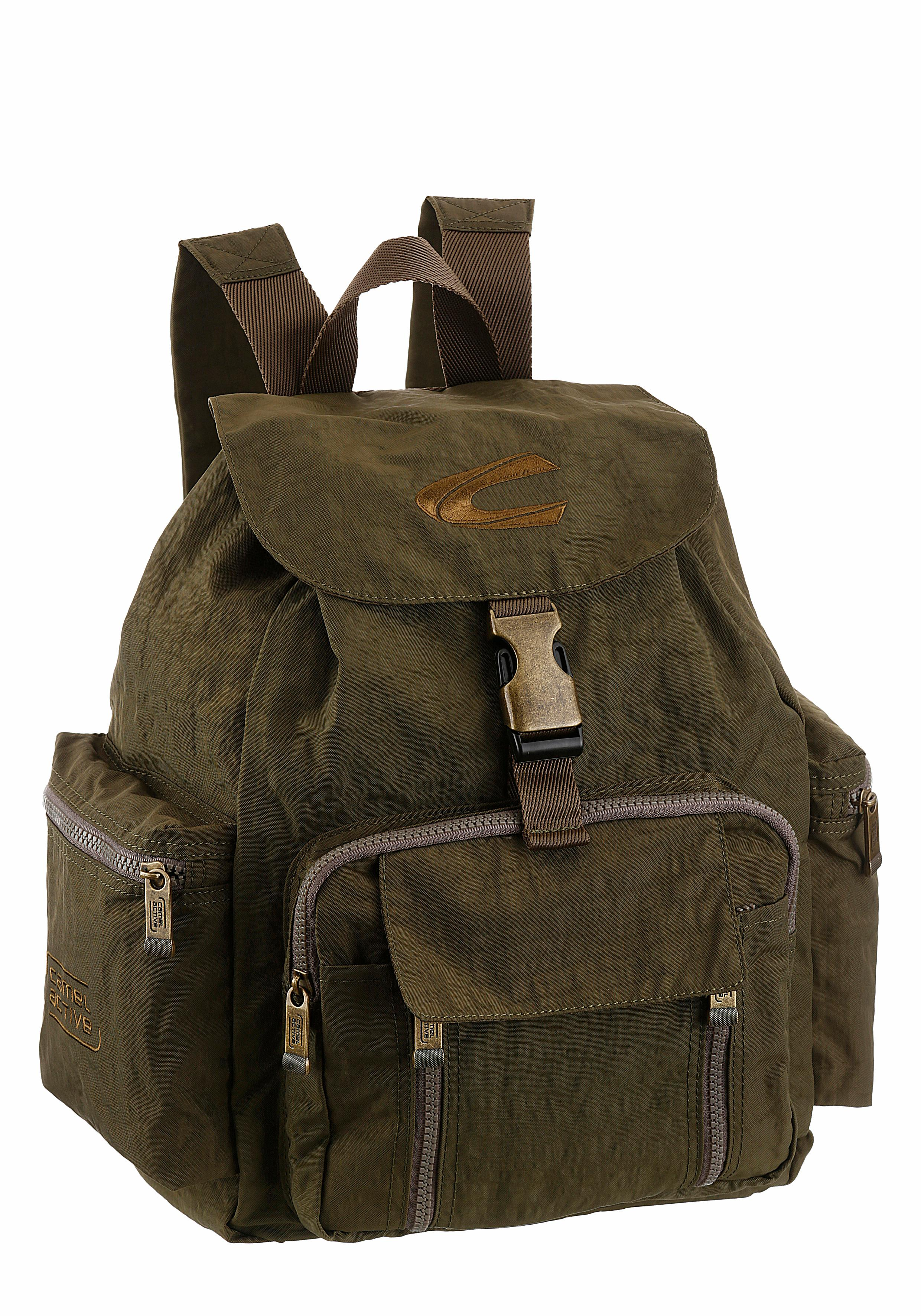 camel active Cityrucksack, mit gepolstertem Rücken und vielen Täschchen günstig online kaufen