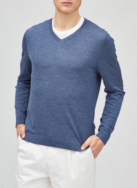 MAERZ Muenchen V-Ausschnitt-Pullover »Summer Merino« in Modern Fit günstig online kaufen