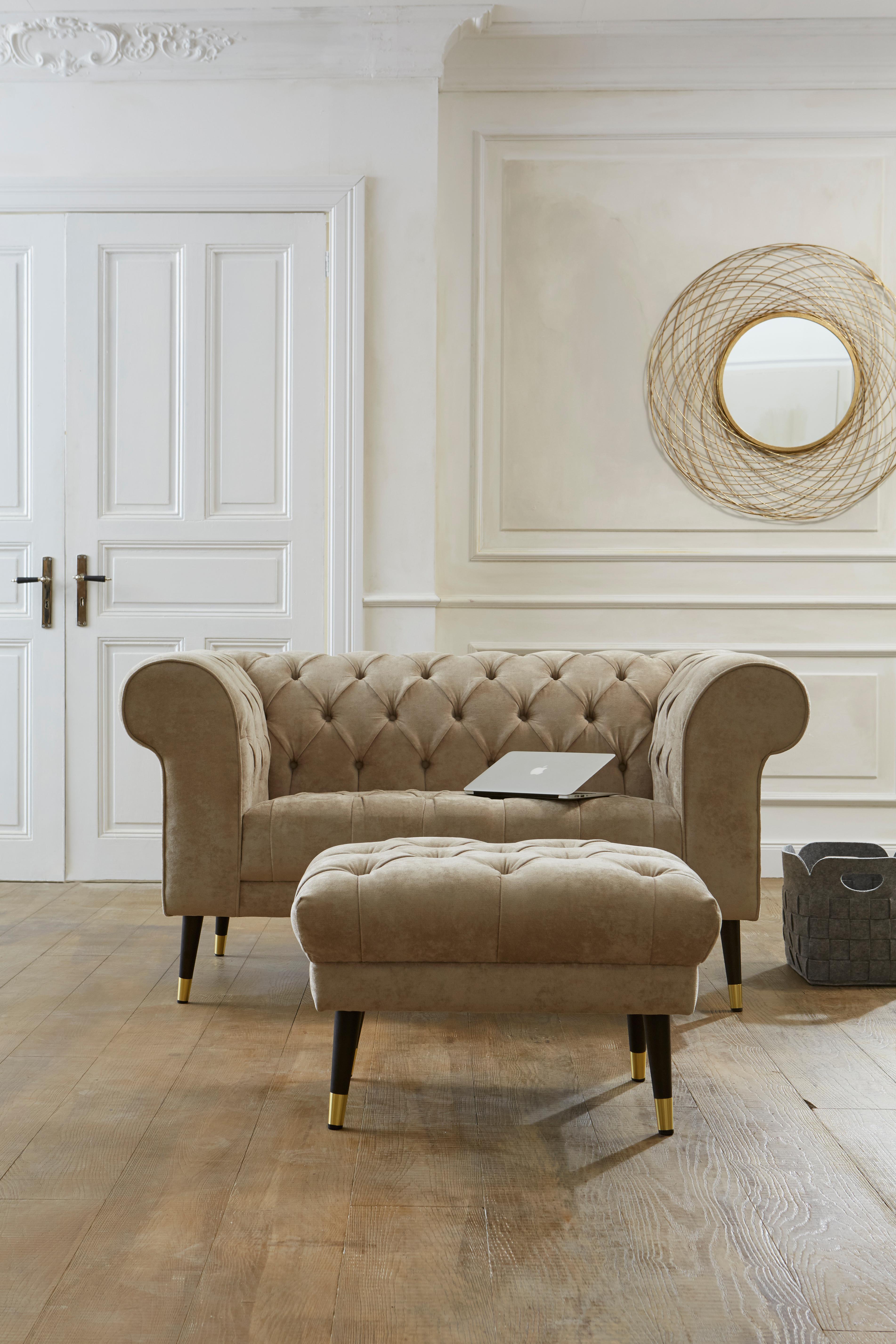 Guido Maria Kretschmer Home&Living Chesterfield-Sofa Tinnum günstig online kaufen