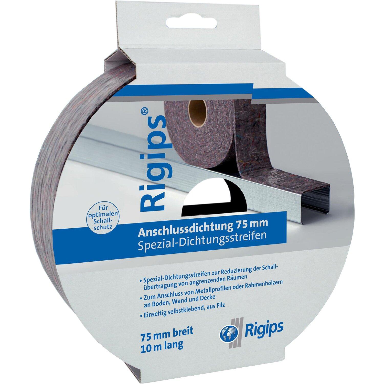 SG Rigips Anschlussdichtung aus Filz 75 mm x 10 m günstig online kaufen
