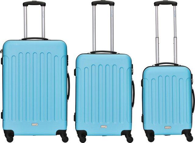 Packenger Trolleyset »Travelstar«, 4 Rollen, (3 tlg) günstig online kaufen
