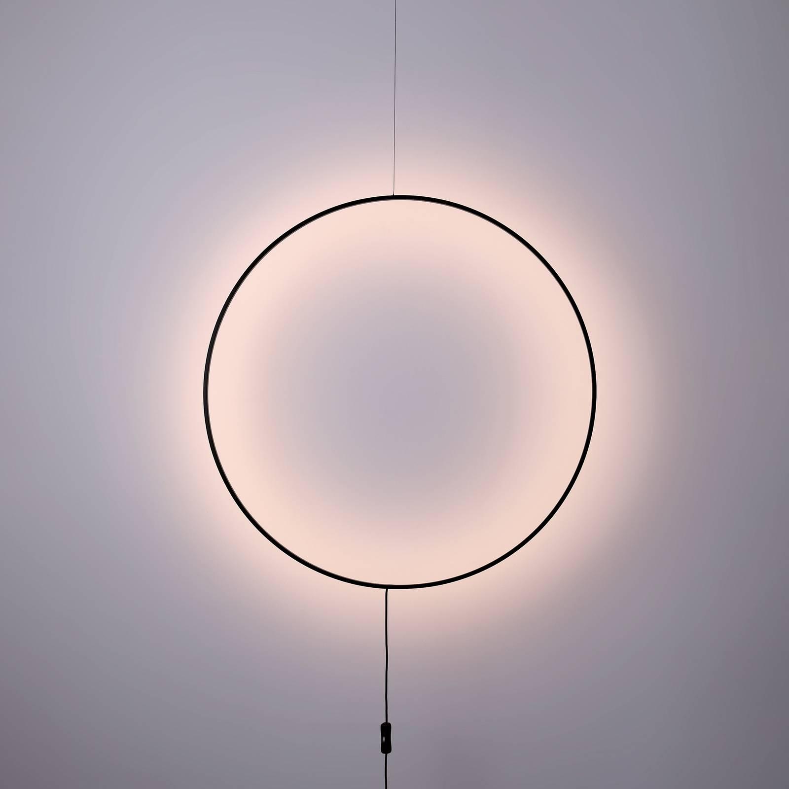 LED-Wandleuchte Shadow, kreisförmig, Ø 61 cm günstig online kaufen