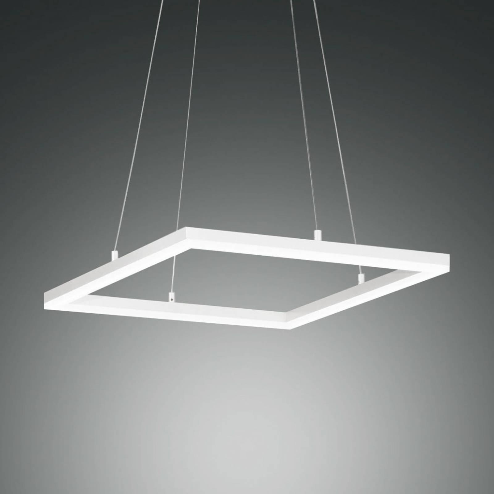 LED-Pendelleuchte Bard, 42x42cm in Weiß günstig online kaufen