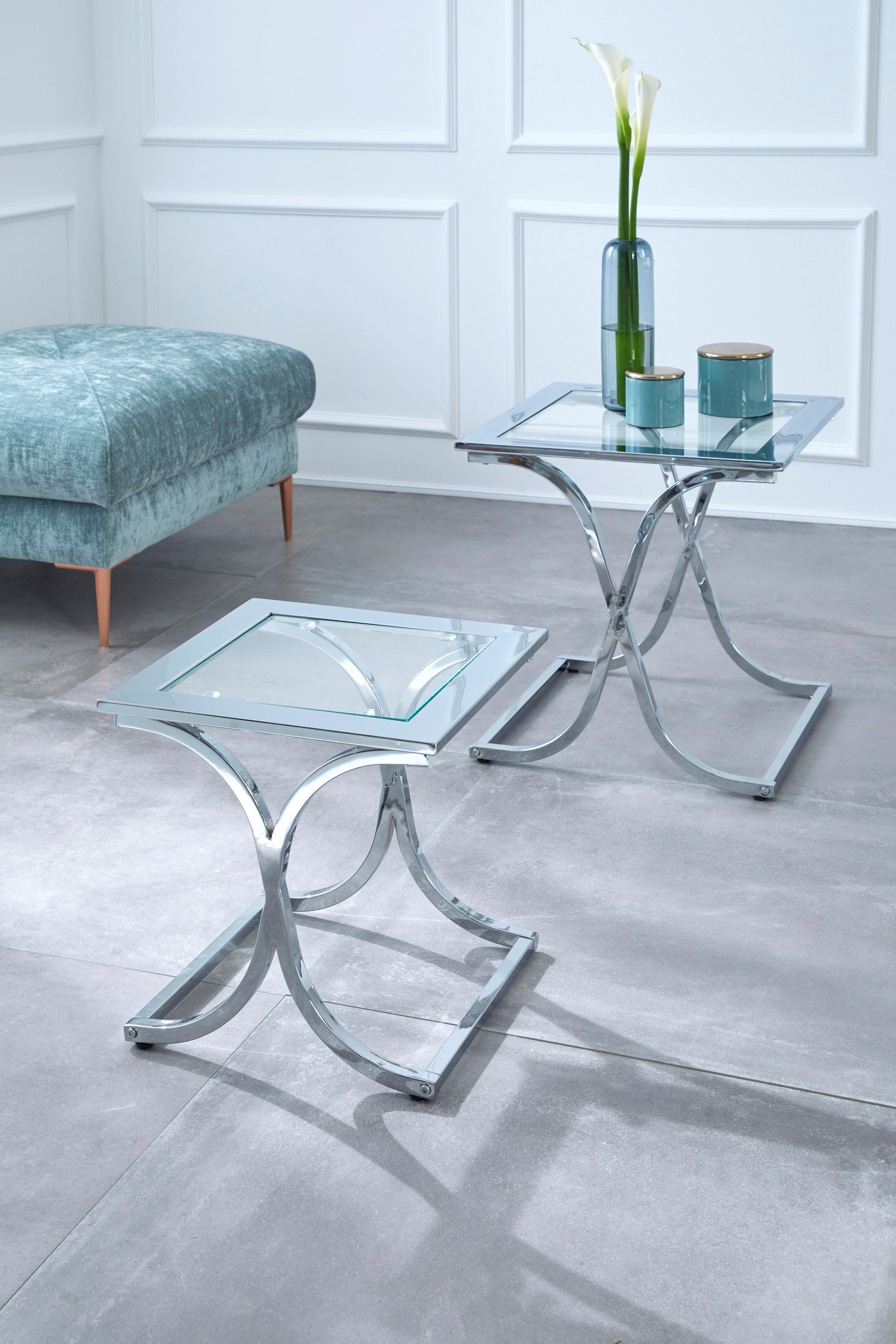 Guido Maria Kretschmer Home&Living Satztisch »Ballum«, mit edlem Metallgest günstig online kaufen