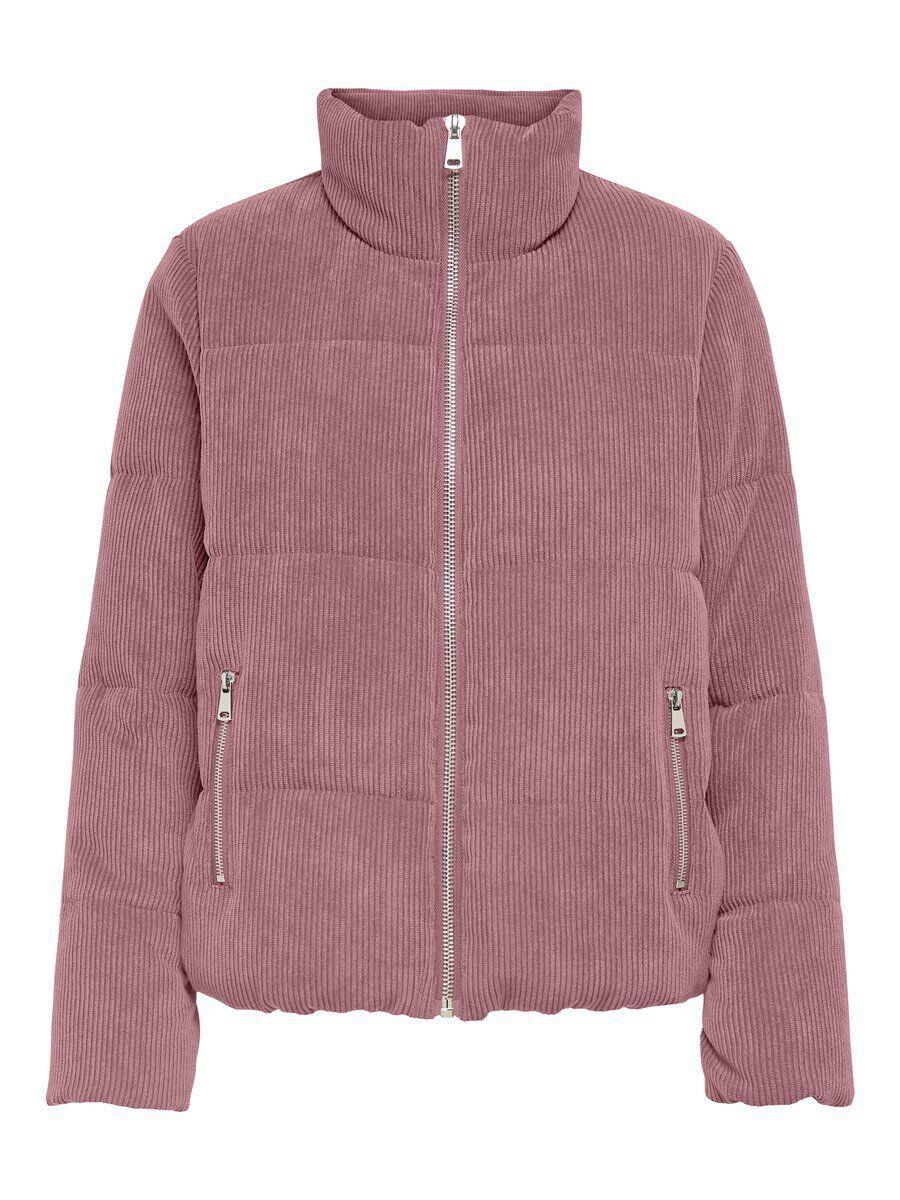 ONLY Stepp Cord Jacke Damen Pink günstig online kaufen