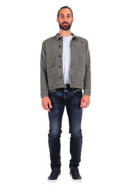 Le Temps Des Cerises Slim-fit-Jeans mit Reißverschluss-Details günstig online kaufen