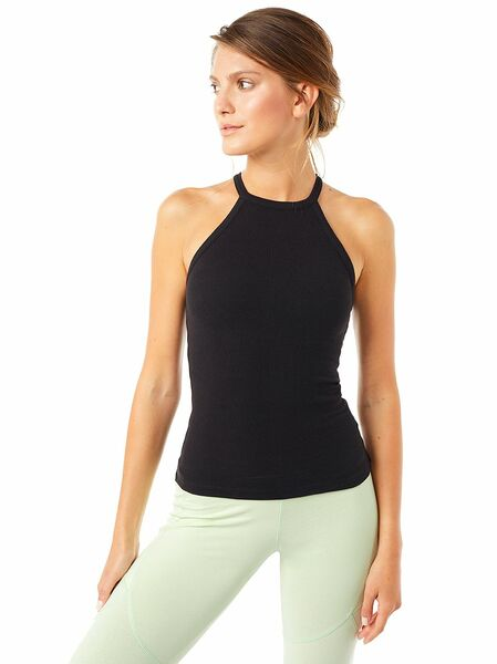 Yogatop - Ribbed Halterneck günstig online kaufen