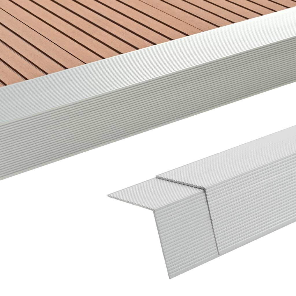 5 Stk. Verkleidungswinkel Verkleidungen Aluminium 170 Cm Silber günstig online kaufen
