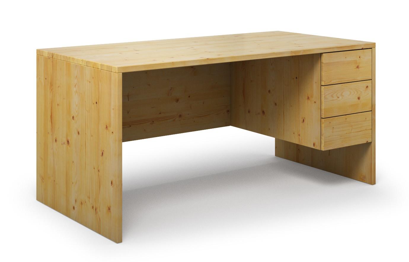 Schreibtisch Kasan aus Kiefer günstig online kaufen