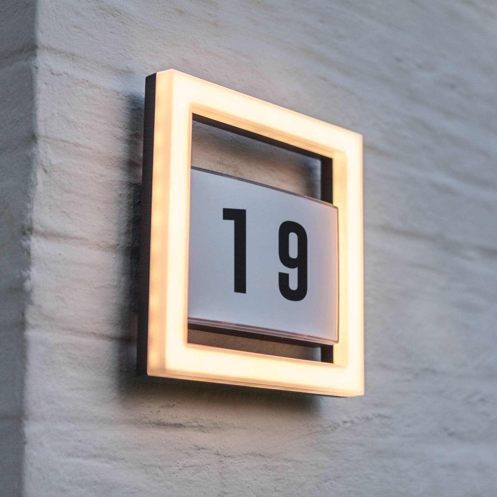 LED-Hausnummernleuchte Alice ohne Sensor günstig online kaufen