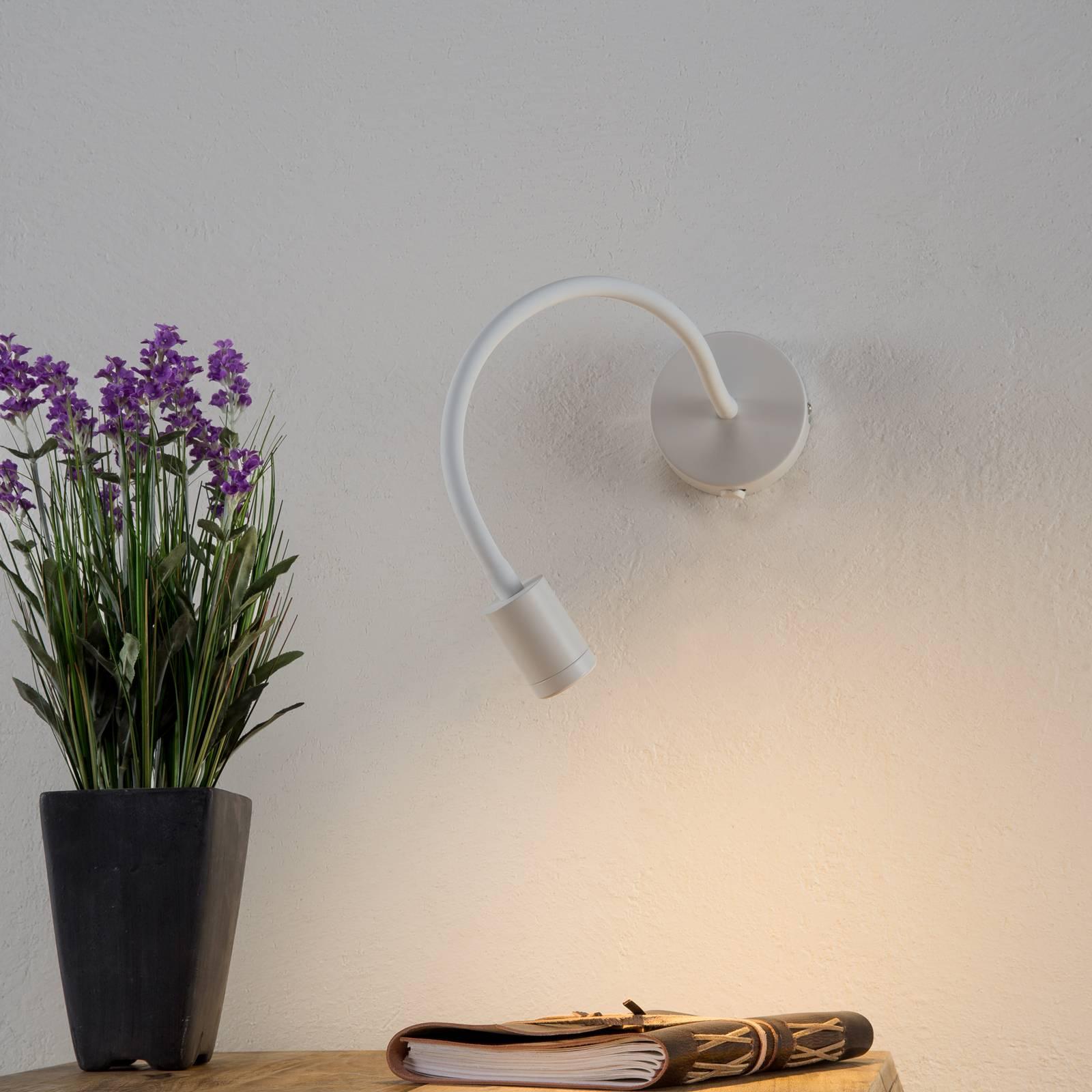 Flexible LED-Wandleuchte Focus, weiß günstig online kaufen