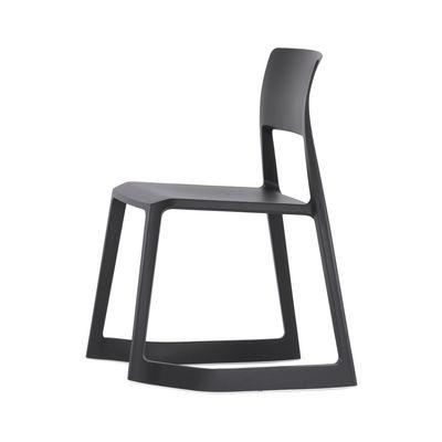 Tip Ton Stuhl / Schrägstellbar & ergonomisch - Vitra - Schwarz günstig online kaufen