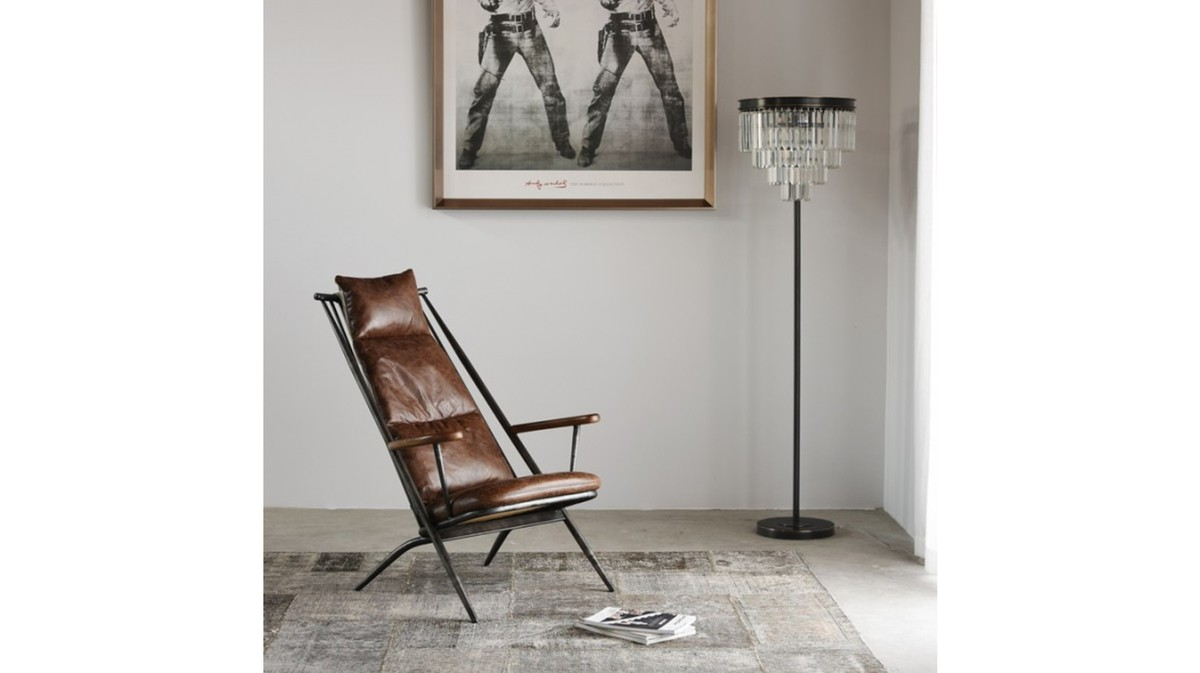 KAWOLA Sessel CIANO Clubsessel Vintage-Leder braun günstig online kaufen