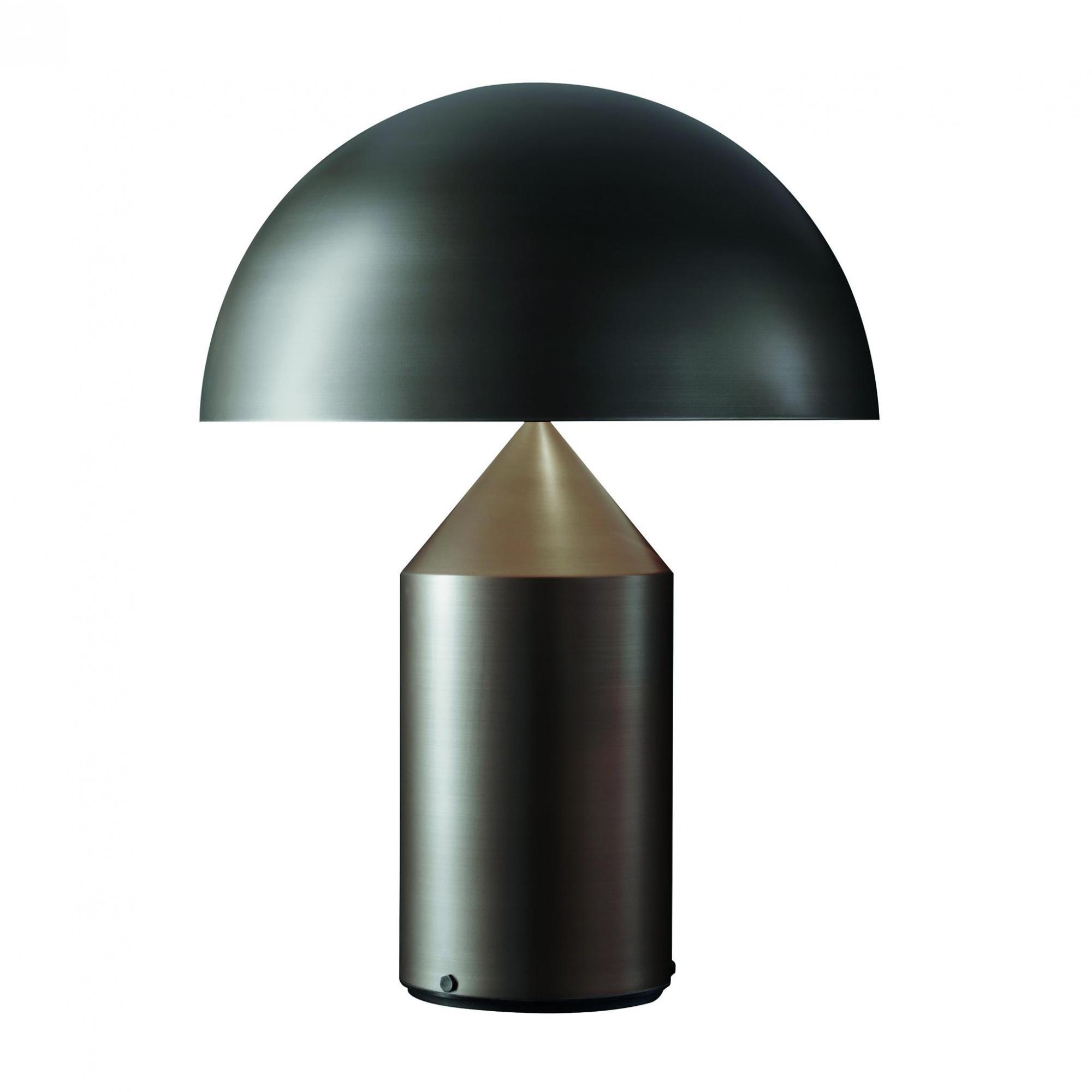 Oluce - Atollo 233 Tischleuchte bronze - bronze satiniert/Innenseite weiß R günstig online kaufen