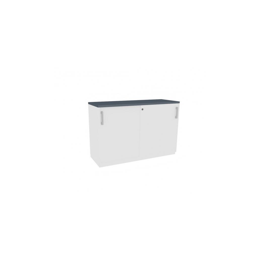 2 OH Schrank mit Schiebetüren 120 cm günstig online kaufen
