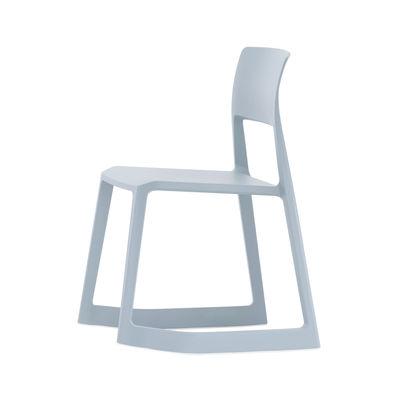 Tip Ton Stuhl / Schrägstellbar & ergonomisch - Vitra - Blau/Grau günstig online kaufen