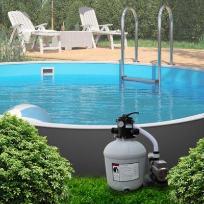 Sandfilteranlage Sandfilter Zeitschaltuhr 24h Timer 13,2m³ Poolfilter Pool günstig online kaufen
