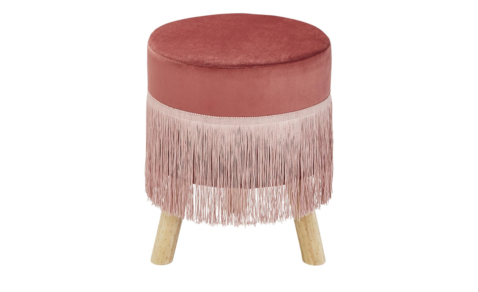 Polsterhocker  Andria ¦ rosa/pinkØ: 32 Polstermöbel > Hocker - Höffner günstig online kaufen