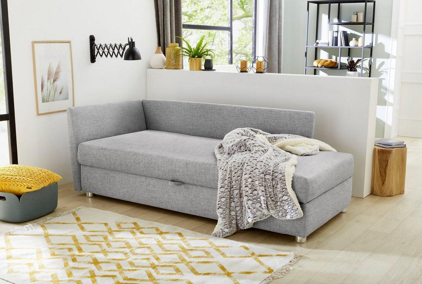 Relaxliege, mit Federkern, Material Kunststoff, Polyester, Baumwolle, Jocke günstig online kaufen