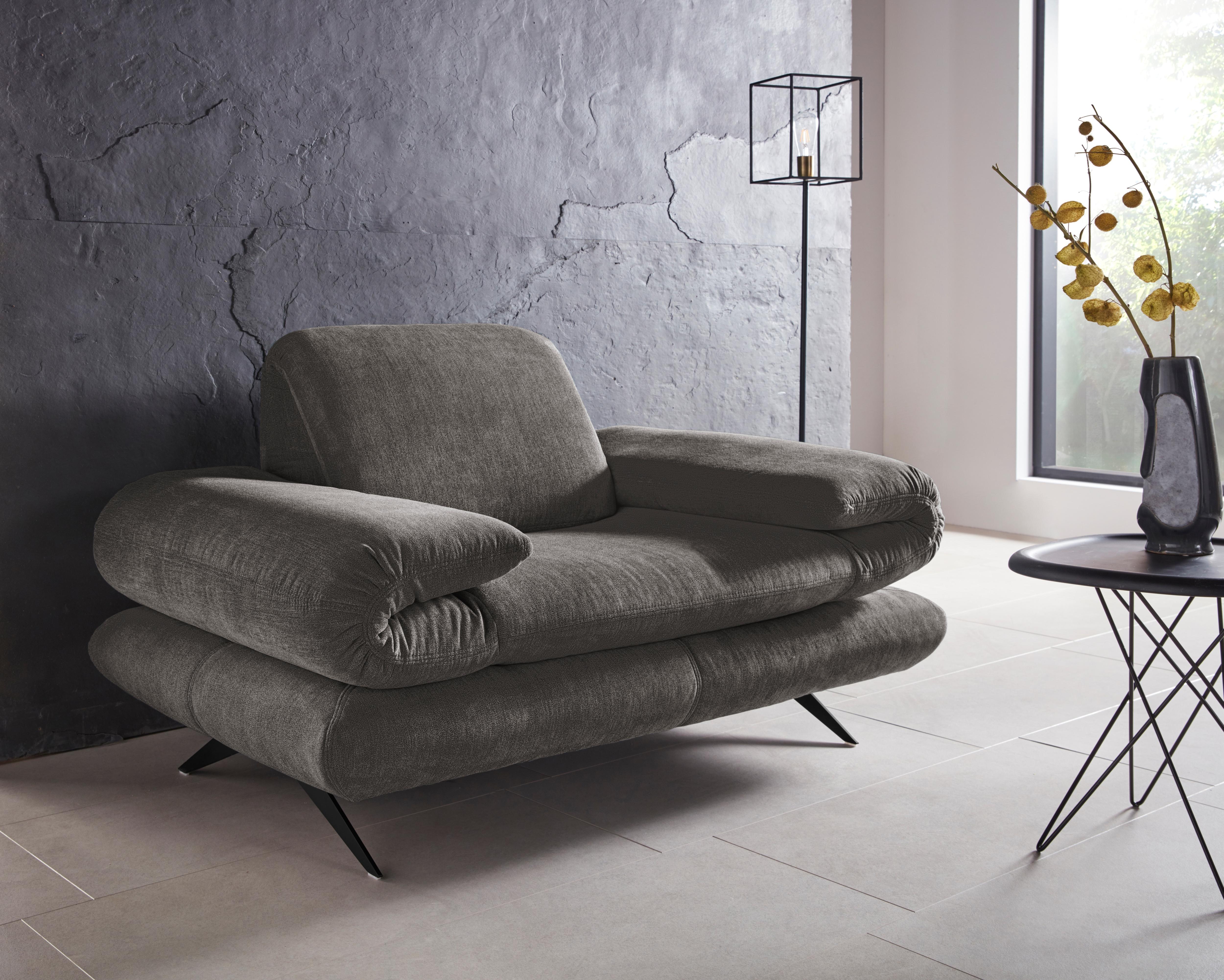 Places of Style Sessel Milano, wahweise mit verstellbarer Rückenlehne - auc günstig online kaufen