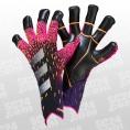 adidas Predator Pro Hybrid Gloves pink/schwarz Größe 8,5 günstig online kaufen