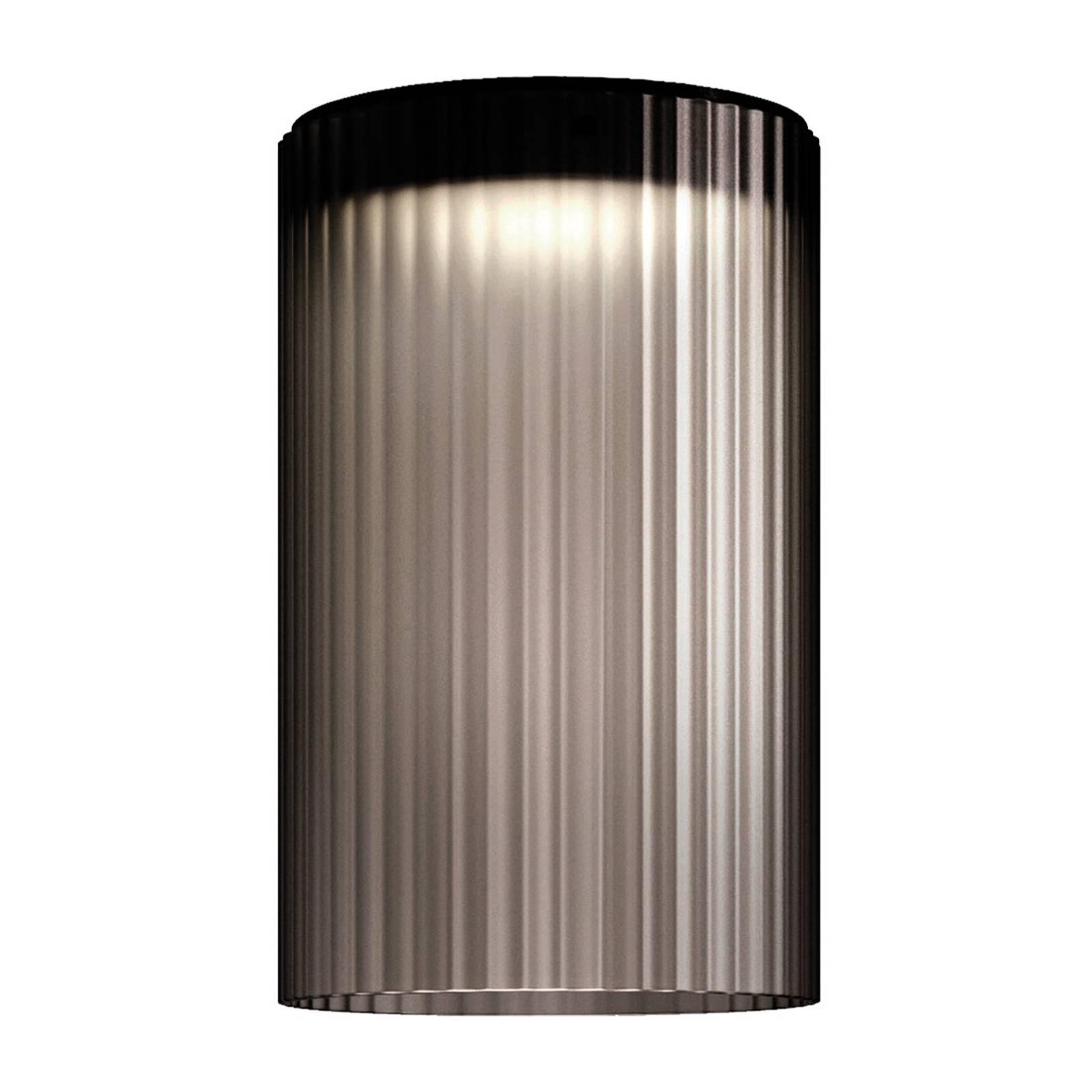 Kundalini Giass - LED-Deckenleuchte, Ø 30 cm, grau günstig online kaufen